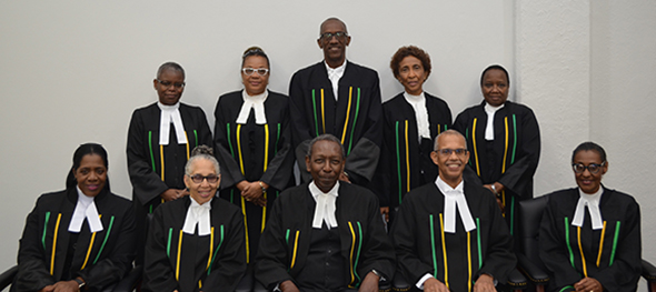 President and Judges of Court of Appeal